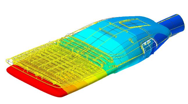 Numerical simulation at V2i